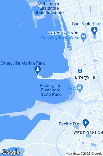 Map of Emeryville