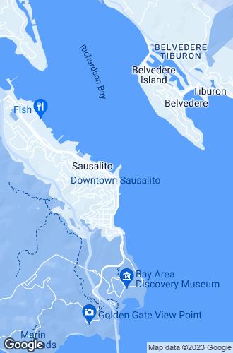 Map of Sausalito