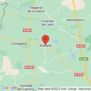 Map - Spectacular Hunting Estate Andalusia, Aracena