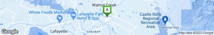 Map of Lark Creek