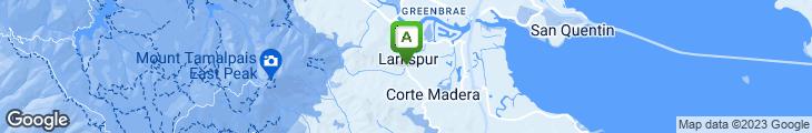 Map of Tavern at Lark Creek
