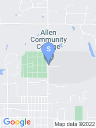 Allen County Community College map