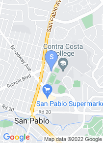 Contra Costa College map