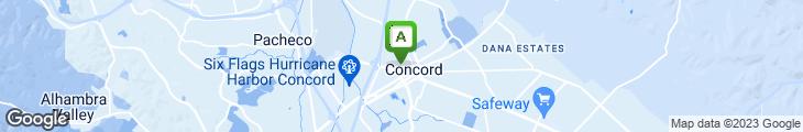 Map of Bay Leaf Cafe