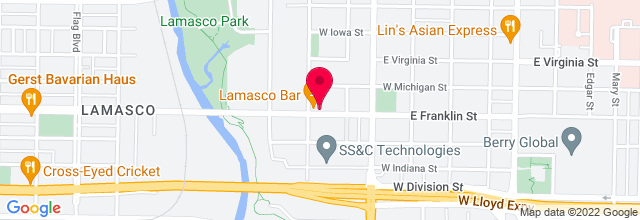 Map for Lamasco Bar & Grill