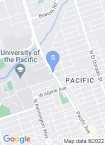 University of the Pacific map