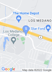 Los Medanos College map