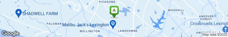 Map of Fazoli's