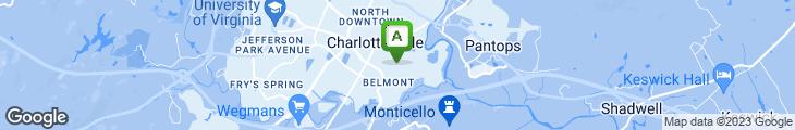 Map of Belmont Pizza & Pub