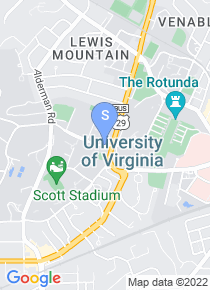 University of Virginia map