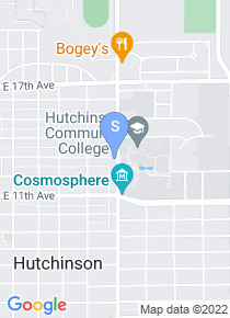 Hutchinson Community College map