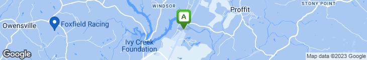 Map of Rhett's River Grill And Raw Bar