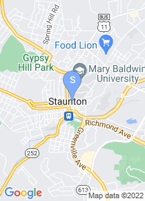 Mary Baldwin College map