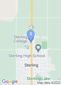 Sterling College map