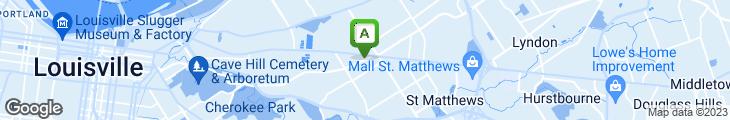 Map of Stan's Fish Sandwich