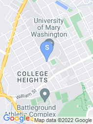 University of Mary Washington map