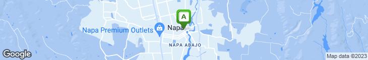 Map of Ubuntu Napa
