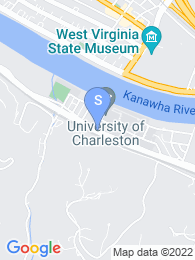 University of Charleston map
