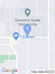 Sonoma State map