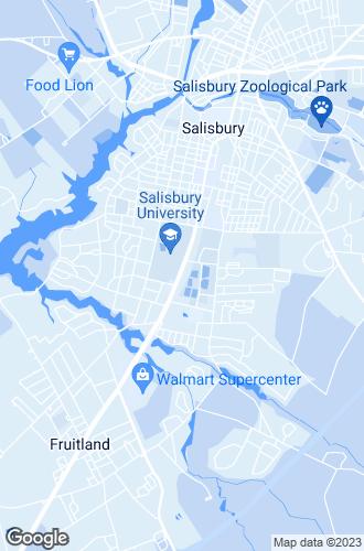 Map of Salisbury