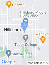 Tabor College map