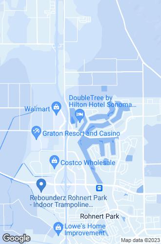 Map of Rohnert Park