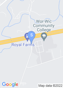 Wor Wic Community College map