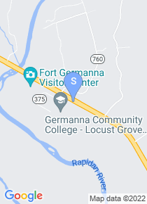 Germanna Community College map