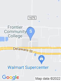 Frontier Community College map