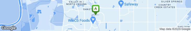 Map of Huadu Kitchen Inc.