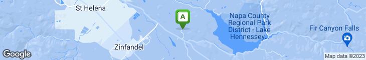 Map of Auberge du Soleil