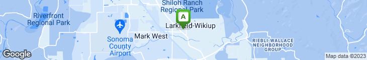 Map of Skylounge Steak House & Raw Bar