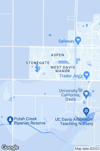 Map of Davis