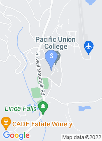 Pacific Union College map