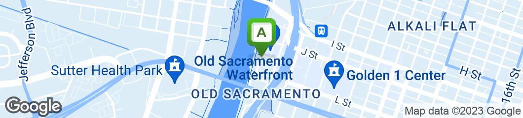 Map of Rio City Cafe