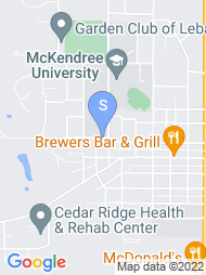 McKendree University map