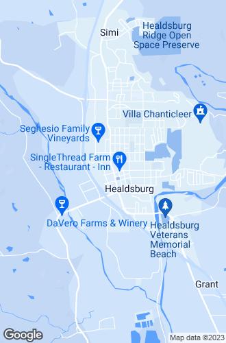Map of Healdsburg
