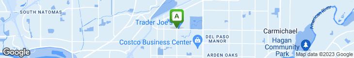 Map of Jamba Juice