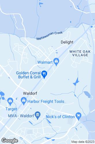 Map of Waldorf
