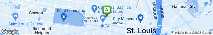 Map of CBW - Crazy Bowls & Wraps