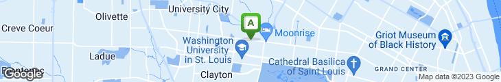 Map of St. Louis Bread Co.