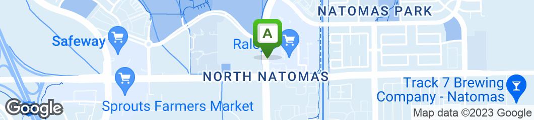 Map of Dickeys Natomas