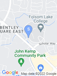 Folsom Lake College map
