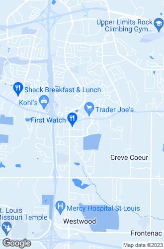 Map of Creve Coeur
