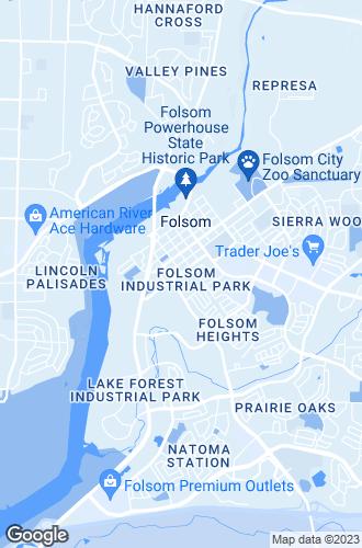 Map of Folsom