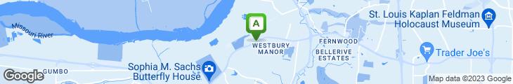 Map of Miller's Crossing