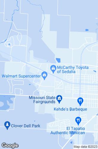 Map of Sedalia