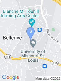 University of Missouri map