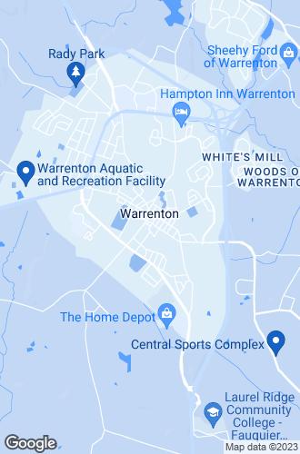 Map of Warrenton