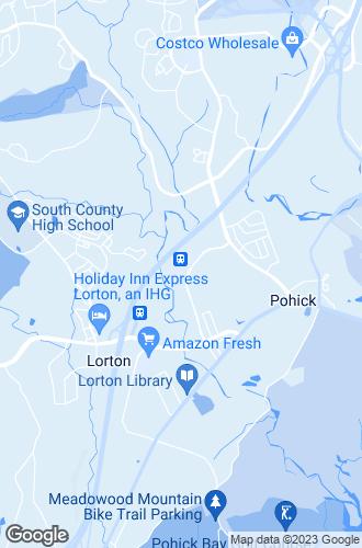 Map of Lorton